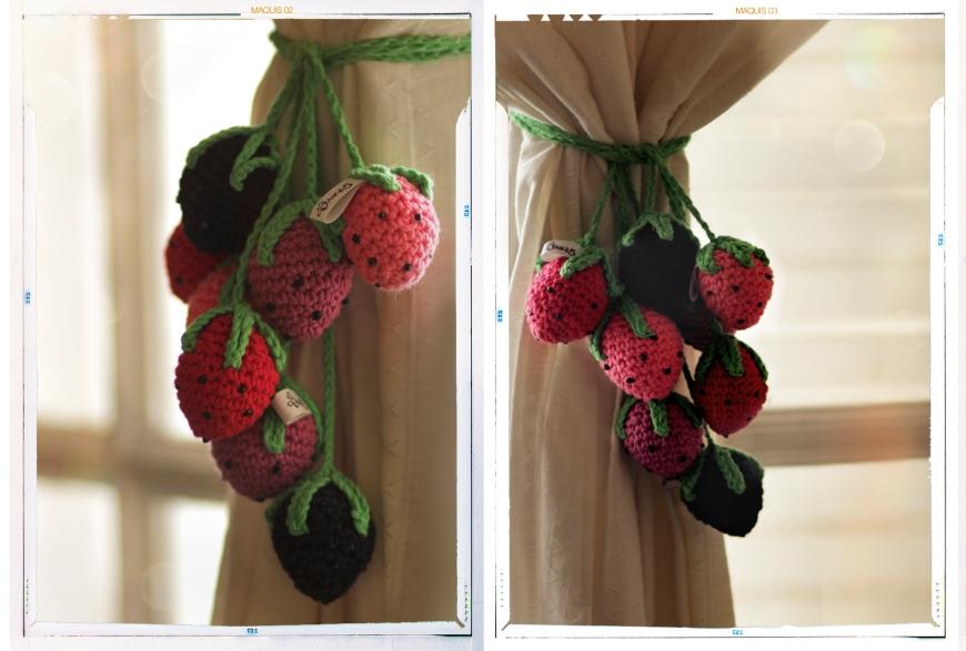 Frutillas crochet Maquis