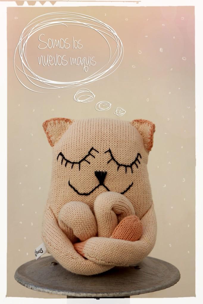 Nuevos muñecos tejidos en puro algodón ♥. Adorables criaturas para abrazar, colgar y amar