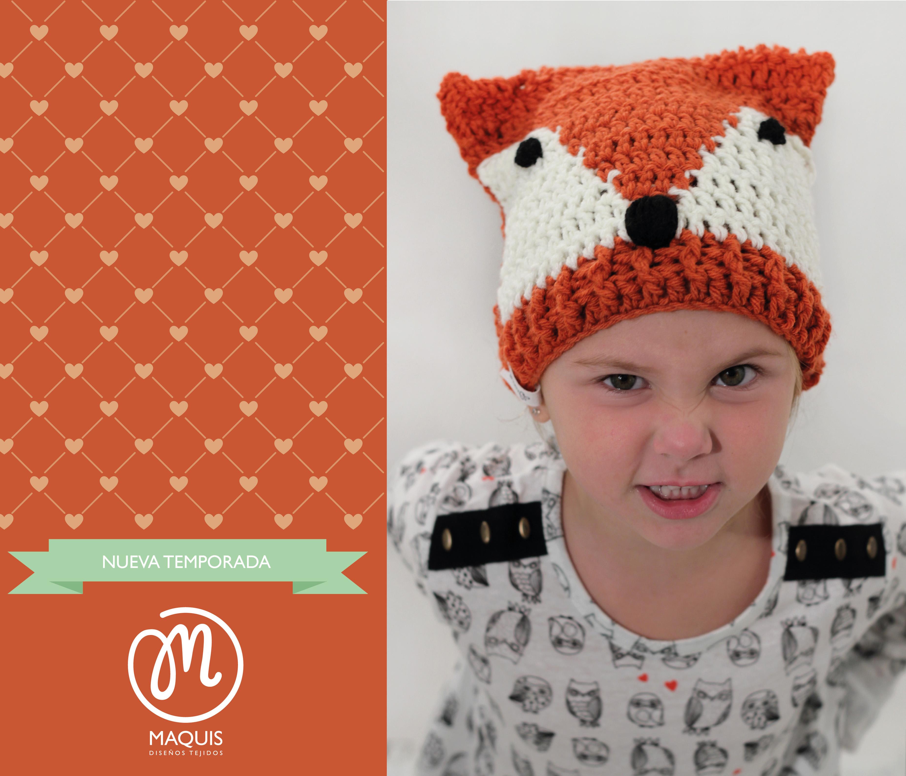 Gorro crochet zorrito · BUFANDA MULTICOLOR 2. Maquis tiene para esta nueva  temporada tejidos ... 7e0ef2d6a46