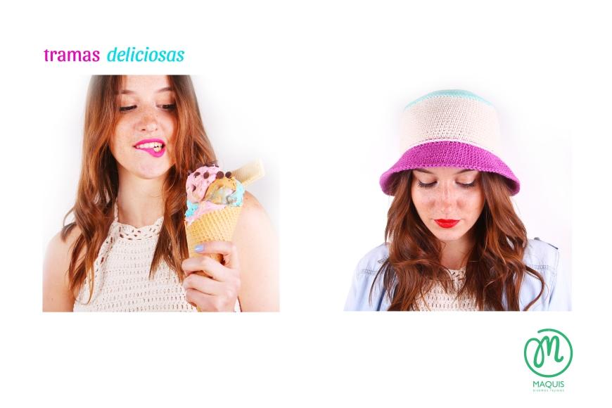 Top y sombrero